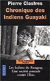 vignette de 'Chronique des indiens Guayaki (Pierre Clastres)'