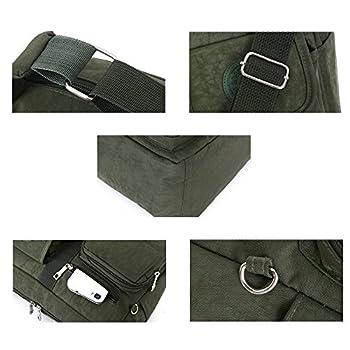 Fabuxry® Women's Shoulder Bags Casual Handbag Travel Bag Messenger Cross Body Nylon Bags 2