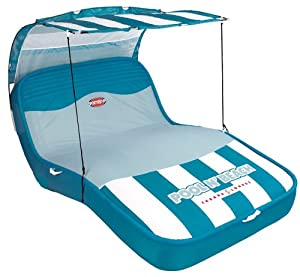 SPORTSSTUFF 54-1900 Pool N Beach Cabana Lounge with Hand Pump by SportsStuff