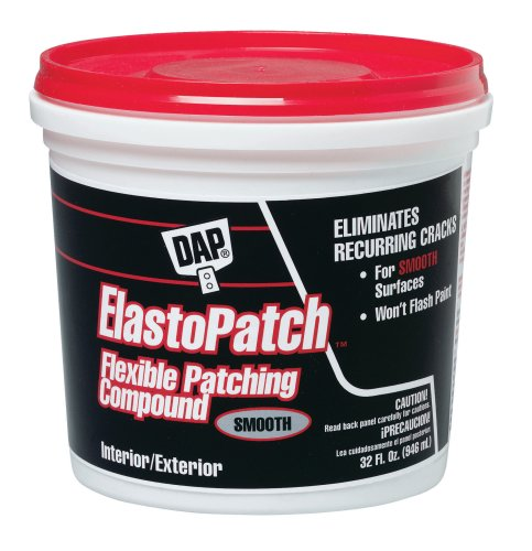 Dap 12278 Elastomeric Patch and Caulking Compound, 1-Quart Tub photo