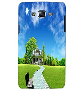 SAMSUNG GALAXY J7 HOUSE Back Cover by PRINTSWAG