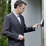 BURG-WCHTER-Elektronisches-Trschloss-mit-Funkverbindung-ffnung-per-Smartphone-oder-Pincode-secuENTRY-easy-5601-Pincode-Set