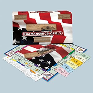 "Obamanomics-Opoly the Politically Incorrect ""Obama Exposed"" Monopoly Game Limited Collectors 1st Edition"