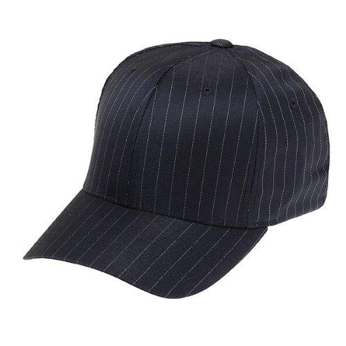 Flexfit Pinstripe Cap Flexcap nero L-XL
