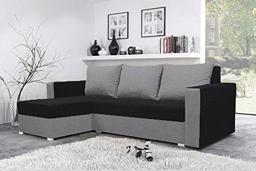 mojito-corner-sofa-bed-with-underneath-storage-in-black-and-grey