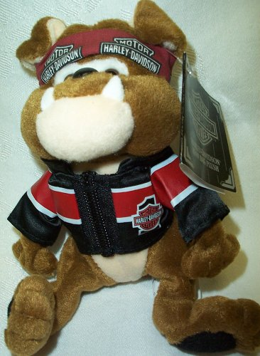 Harley Davidson Bean Bag Plush Tanker - 1