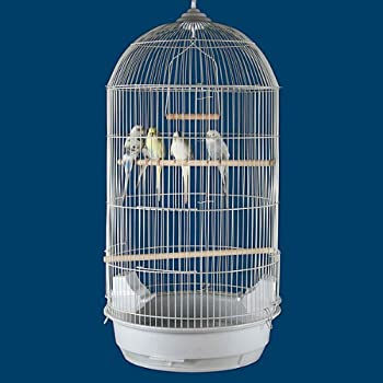 "Princeville Palace Bird Cage - 18""W x 14""D x 34""H - 2 Colors Available!"