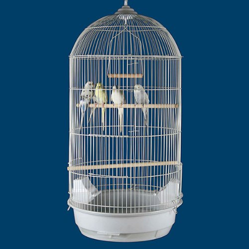 """Princeville Palace Bird Cage - 21""""W x 16""""D x 56""""H - With Stand or Without or Stand Only! 2 Colors Available! 3"""