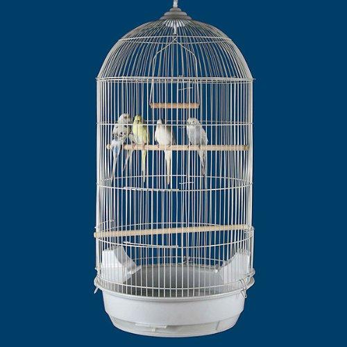 "Princeville Palace Bird Cage - 18""W x 14""D x 34""H - 2 Colors Available! 0"