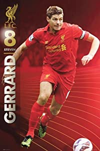 Posters Soccer Poster - Liverpool Fc Steven Gerrard 201213 36 X 24 Inches by 1art1 GmbH