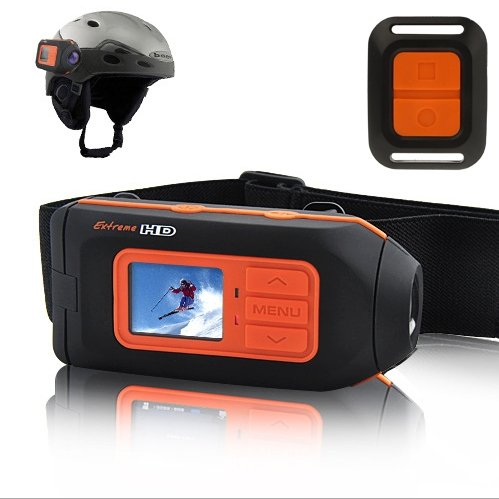 Extreme Full HD 1080P Helmet Camcorder Sports Action Camera DV Motor Bicycle Bike, Support HDMI Output / SD Card (HD119)