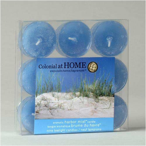 Colonial Candle Harbor Mist Scented Tealight Candles