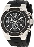 Swiss Legend Men's 30025-01-BB-SA Throttle Chronograph Black Dial Watch