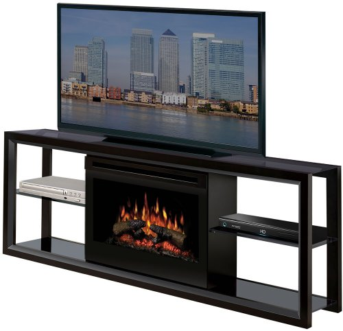 Dimplex SGFP-300-B Novara Black Electric Fireplace Media Console picture B002AXK7QM.jpg