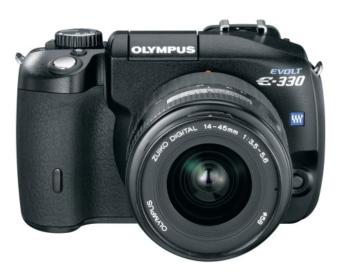 Olympus EVOLT E-330 (with 14-45mm and 40-150mm Lenses)