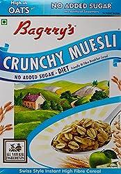 Bagrry's No Added Sugar Crunchy Muesli, Box, 400g