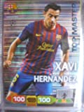 Xavi Hernandez Top Master Rare Card Panini Adrenalyn Champions League 2011 / 2012