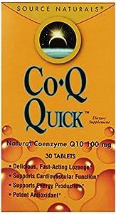 Source Naturals CoQ Quick 100mg, 30 Tablets