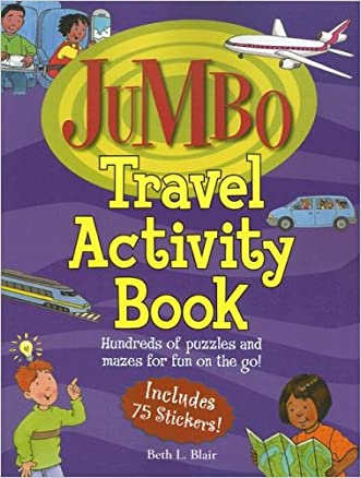 Jumbo Travel Activity Book: Hundreds of Puzzles and Mazes for Fun on the Go (Jumbo Kids' Books)