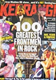 img - for Kerrang! Issue 787 (100 Greatest Frontmen cover) book / textbook / text book