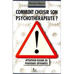Comment choisir son psychothérapeute