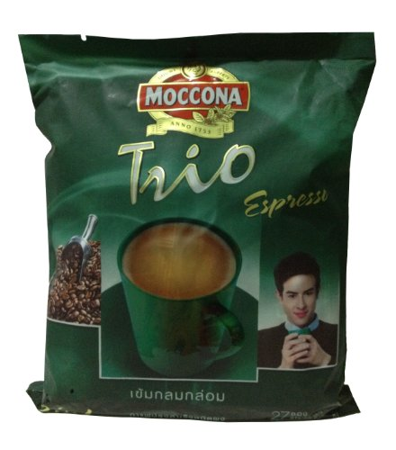 Moccona Trio Espresso Instant Coffee 486 G. (18 G. X 27 Sticks)