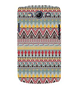 Arrow Pattern Wallpaper 3D Hard Polycarbonate Designer Back Case Cover for Samsung Galaxy S3 Neo :: Samsung Galaxy S3 Neo i9300i