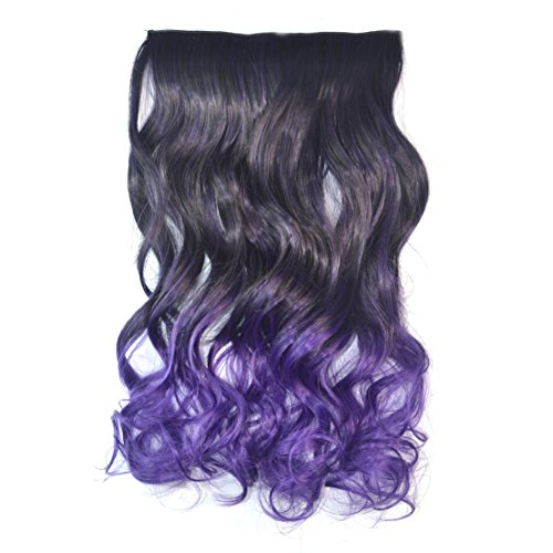 Stepu (Black To Purple Hair)