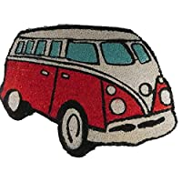 VW Campervan Doormat Red from Giftworks