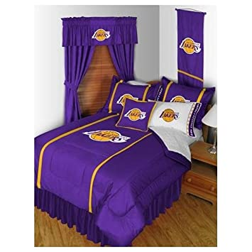 Spectacular Los Angeles LA Lakers Bed In A Bag Set