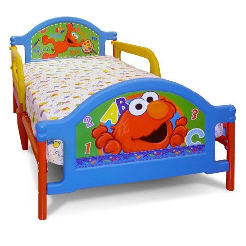 Sesame Street Toddler Furniture - Elmo Bed