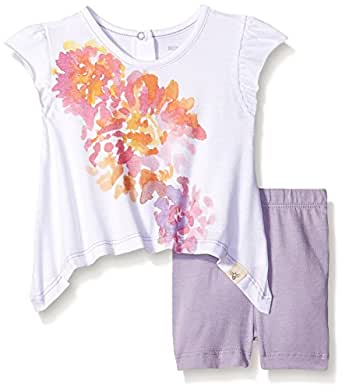 Burt s Bees Baby Baby Organic Floral Tee and Bike Short