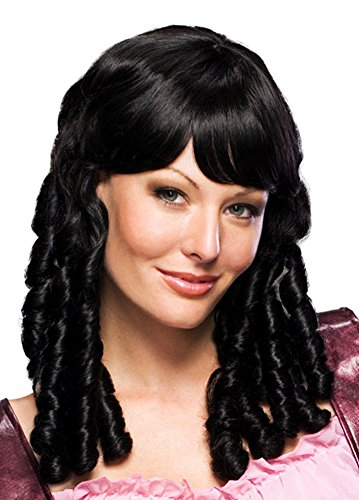 [Rubie's Costume Baby Doll Wig, Black, One Size] (Baby Farmer Halloween Costume)