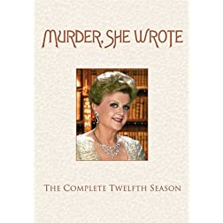Murder, She Wrote: The Complete 12th Season