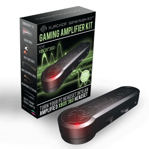 Teknmotion Xjacker Soniq Rush 2.0 Gaming Amplifier - Xbox 360