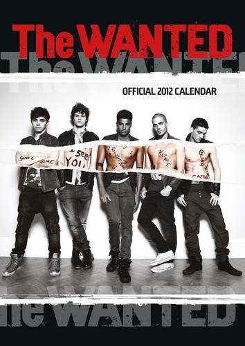 Official The Wanted A3 Calendar 2012