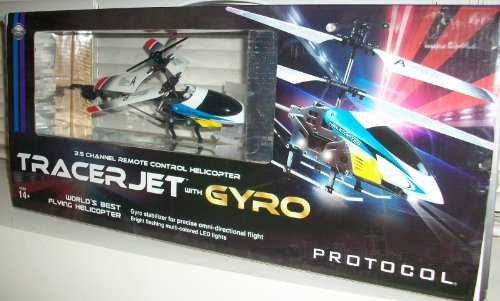 Protocol Tracer Jet with Gyro 35 Channel Remote Control Helicopter