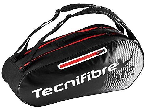 Tecnifibre Pro Endurance Atp 6er Schlägertaschen, Schwarz, 750 x 40 x 33 cm, 70 Liter