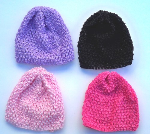 BABY STRETCH CROCHET BEANIE HAT
