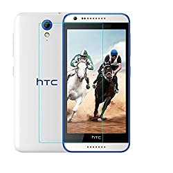 PrixCracker 2.5D Curved Edge 9H Hardness Premium Tempered Glass For HTC Desire 820 Dual Sim