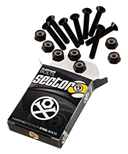 Sector 9 Bolt Pack Set, Black, 1.25-Inch