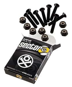 Sector 9 Bolt Pack Set, Black, 1.25-Inch