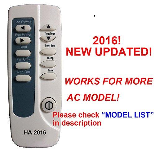 HA-2016 Replaces Frigidaire Air Conditioner Remote Control 5304476851 works for FRA106CVA12 FRA106CVA13 FRA106CVA18 FRA106CVA19 FRA106CVA20 FRA106CVA21 FRA126CT1 FRA126CT10 FRA126CT11