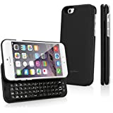 BoxWave  Keyboard Buddy iPhone 6 Case - Backlit Edition - Bluetooth Keyboard with Apple Commands and Backlit Keys (Jet Black)