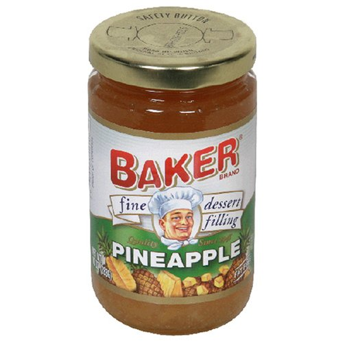 Buy Baker Fine Dessert Filling, Pineapple, 10-Ounce Jars (Pack of 8) (Bakers, Health & Personal Care, Products, Food & Snacks, Baking Supplies, Pie & Cobbler Fillings)