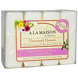 A la maison soap bars thousand flowers for A la maison soap