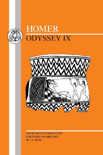 Homer: Odyssey XI (Bcp Greek Texts)