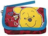 Disney Winnie the Pooh Coin Pouch Purse Wallet Card Phone Case Bag with 2 Zippers inside