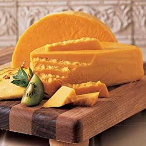 3 Lb. Longhorn Colby Cheese - Wisconsin Cheeseman