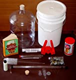 Complete Brew Kit with 6 Gal Carboy and Coopers Real Ale Beer Kit